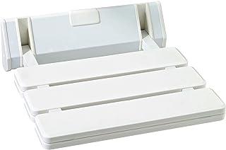 9milelake 壁挂式滴叶凳,可折叠淋浴座椅,折叠浴座(V-FWH01-W)