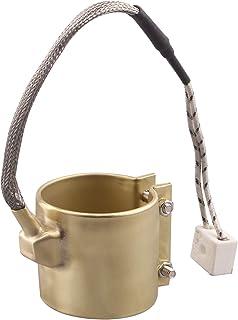 DERNORD 110V 350W 50mmx50mm 注塑模具加热元件 黄铜带加热器 适用于注塑机