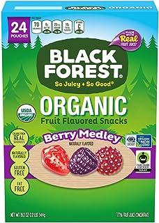 Black Forest 水果零嘴, 混合浆果味, 0.8-Ounce /22.7g (24包)