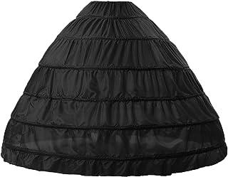TPYQdirect 6 箍裙及地裙衬裙衬裙舞会礼服 滑衬裙