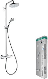 hansgrohe 汉斯格雅 Croma 淋浴系统 220 1jet 带恒温淋浴水混合器
