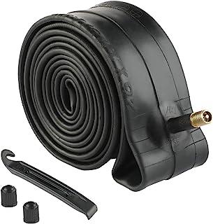 Livtor 20/24/26 内管替换用于 Schrader Valve MTB 自行车 BMX 自行车内管,带轮胎杆和额外的阀盖