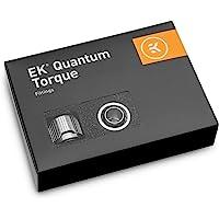 EKWB EK-Quantum 扭矩 STC-10/16 压缩配件,适用于软管,10/16 毫米(3/8 英寸内径,5…