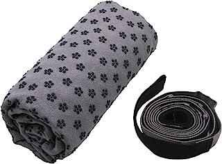 瑜伽垫毛巾和拉伸带组合套装   超细纤维毛巾 *硅胶上下垂设计,防滑。 超长拉伸带,带定位环。   Mandelbrot X