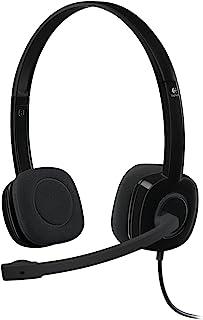 Logitech Logitech H111 立体声耳机981-000589 H151