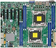 Supermicro 主板 MBD-X10DRL-I-B LGA2011 E5-2600v3 C612 DDR4 PCI-Express SATA ATX 棕色盒子