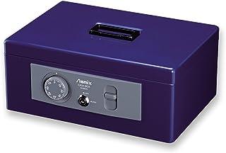 ASKA ASMIX 手提保险柜 MCB MCB630 A4 ダイヤル 収納書類 A4 钴蓝色