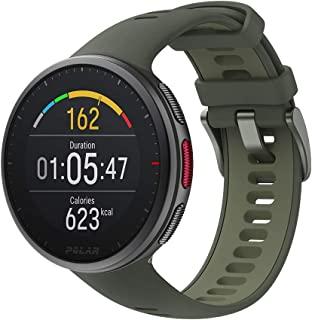 POLAR Vantage V2 高级多功能运动智能手表,具有GPS,基于腕式的所有运动HR测量-音乐控制,天气,电话通知