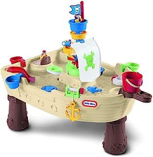 Little Tikes Anchors Away Pirate - 儿童水上玩具套装 - 便携 - 鼓励创意游戏