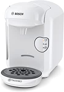 Bosch 博世 Tassimo Vivy2 胶囊咖啡机 TAS1404,容量大于70杯,全自动,适用于所有杯子,体积小巧,1300W,白色