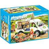 PLAYMOBIL 摩比世界 Country 农场售货车拼插玩具 70134,适合4岁以上儿童