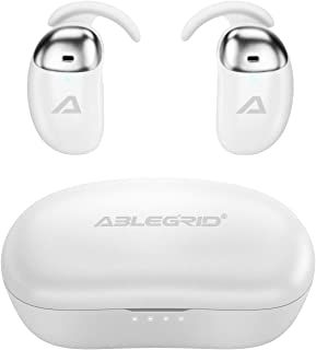 KANOE 真正的无线耳塞,TWS 耳机蓝牙 5.0 Qualcomm APTX 声音与深沉低音,30 小时播放时间,cVc8.0 降噪呼叫,运动耳机带旋转铝充电盒