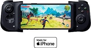Razer Kishi iPhone 控制器:兼容大部分 iPhone - 云游戏就绪 - 闪电端口直通充电 - 可点击模拟拇指棒 - Mac