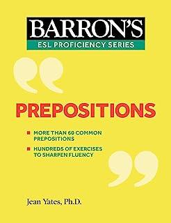 Prepositions (Barron's ESL Proficiency) (English Edition)