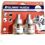 Feliway Multiat 扩散器 替换装 2 支 每支 48 ml