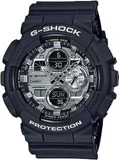 GA140GM-1A1 G-Shock 模拟数字青铜表盘黑色橡胶表带男式手表