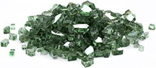 DRAGON GLASS 1/ 5.1cm 反光 Fire GLASS 绿色 25 lb.