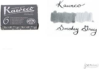 Kaweco 钢笔墨墨盒短裤,*灰色(灰色),6 支装