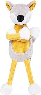 小狐狸王子毛绒玩偶填充木偶玩具 2020 年新年礼物(黄色风格)