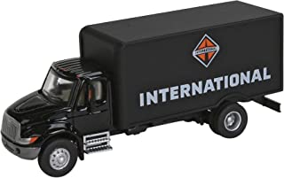Walthers SceneMaster International 黑色 4900 单轴箱厢式货车
