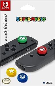 HORI Nintendo Switch Super Mario 马里奥摇杆帽,获得Nintendo官方许可-Nintendo Switch