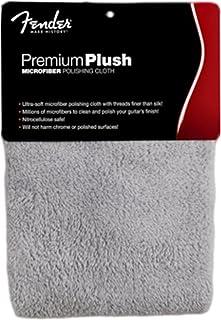 Fender 芬达 优质拭琴布 毛绒超细纤维 099-0525-000,灰色