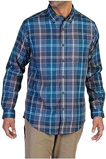 ExOfficio Men's Kegon Plaid Long Sleeve Shirt