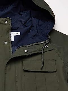 Amazon Essentials 男式標準輕質山地派克大衣夾克