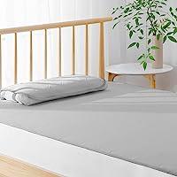 Kumori 触感清凉 床垫 提高凉爽感 床垫 夏季用 透气 吸湿速干 可洗 强凉垫 (单人・100X200cm 灰色)