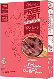 Cybele's Free To Eat Superfood Veggie Pasta, Superfood Red, 8 Ounce Box (Pack of 6)