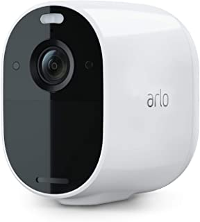 Arlo Essential 聚光灯摄像机 | 无线,1080p 视频| 彩色夜视,双向音频,6 个月电池寿命,运动激活,直接连接 WiFi,无需集线器 | 与 Alexa 配合使用 | 白色