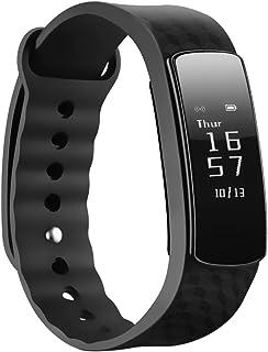 Mpow 健身*活动追踪器计步器腕带智能手表 - 黑色