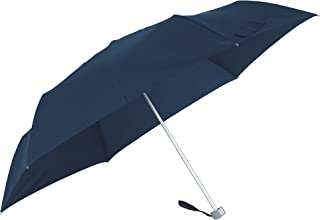 SAMSONITE Rain Pro 3 段手动平底伞,24 厘米,蓝色