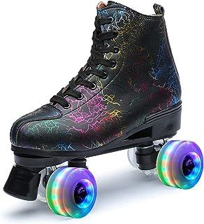 Roller Skates 女式户外发光溜冰鞋,适合青年和成人