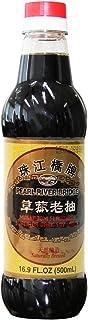 Pearl River Bridge Mushroom Flavored Superior Dark Soy Sauce, Plastic Bottles, 16.9 oz.
