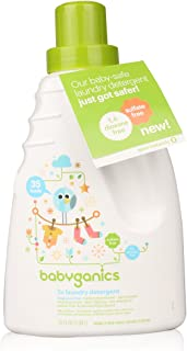 BabyGanics (甘尼克宝贝) - 3倍洗衣粉35香料 - 35 fl. 盎司