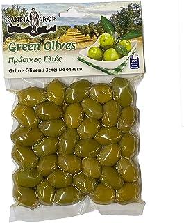 Candia Crop Green Olives 200 g (Pack of 5 - total 1 KG)