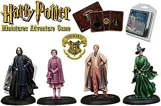 Knight Models HPMAG01 哈利波特微型冒险游戏核心盒,混合颜色 Teen, Adult Hogwarts Professors Exp Harry Potter Miniatures Adventure Game (HPM) ...