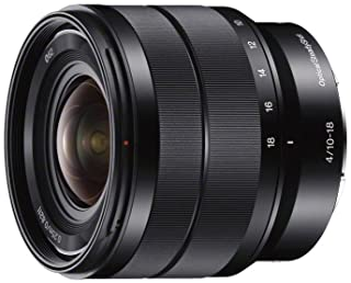 Sony 索尼 SEL1018 E卡口-APS-C 10-18 mm F4.0广角变焦镜头