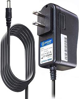 T-Power AC,DC 充电器电源兼容兄弟 AD-24 AD-24ES AD-20 或 AD-30 P-Touch 标签机备用交流适配器电源线插头