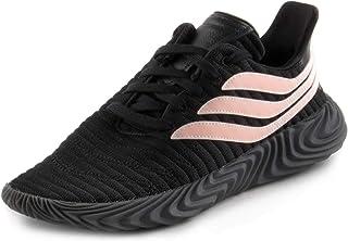 adidas 阿迪达斯 Sobakov 男士核心黑色/珊瑚粉