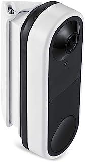Wasserstein 30° 至 55° 水平楔形壁挂式兼容 Arlo 视频门铃 - 灵活的安装选项(白色)(不兼容Essential Arlo 无线门铃)