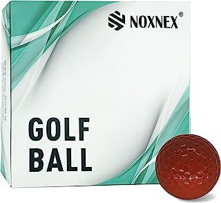 高尔夫标准球 2 件套聚氨酯柔软耐用稳定练习高尔夫球 10 种颜色(12+4 个球)
