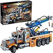 LEGO 乐高 42128 Technic 重型牵引车 模型套装 儿童技术 起重玩具