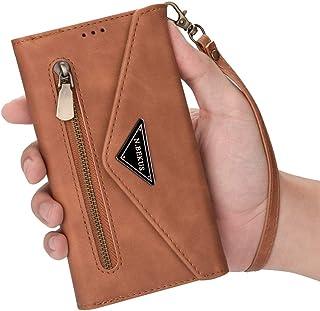 JTMall 手机壳兼容三星 Galaxy S10 Plus 钱包保护套 PU 皮套豪华 ID 现金信用卡插槽支架携带翻盖视频通话支架携带保护