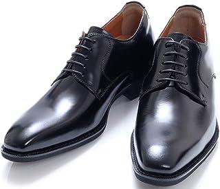 [北岛制鞋工业所] 秘密鞋 商务 男士 6厘米 外羽根 平面 牛皮 日本制造 系带 皮鞋 红白喜庆 求职 1931