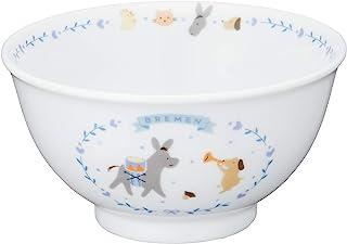 NARUMI 鸣海 儿童用 茶碗 Bremen系列 蓝色 240cc(约240ml) 微波炉&烤箱可用 日本制造 7980-3321