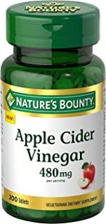 Nature's Bounty 自然之宝 苹果醋膳食补充剂,480毫克,200片