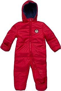 iXtreme 婴儿男孩连体棉衣冬季雪衣带帽(新生儿和婴儿)