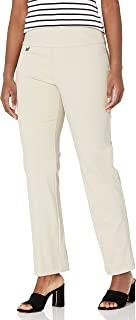 SLIM-SATION 女式 Misses 套穿纯色针织喇叭裤 带肚子拼接